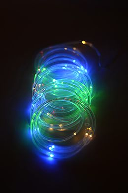 Mini rope light multicolor led 15ft 60ct rope lighting lights liven up the party with the flexible multicolor mini led rope light mozeypictures Images