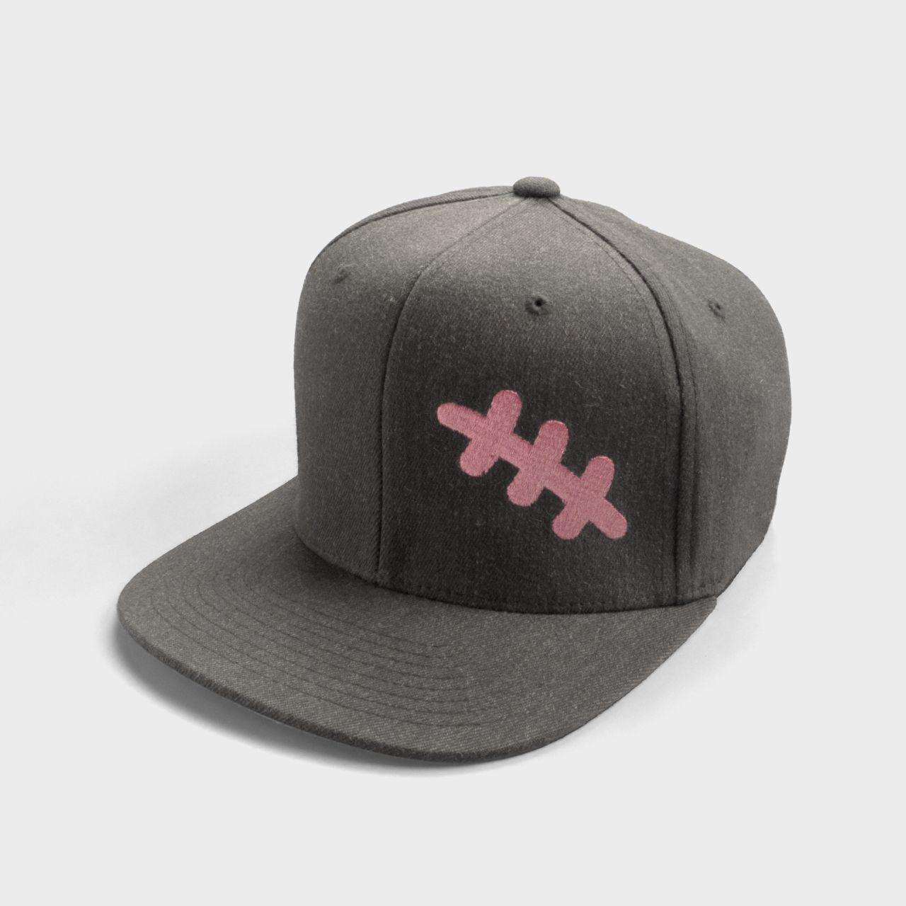 22262e81657 Scar Cap Grey ( Flexfit Pro-Style Wool ) - 83% Acrylic