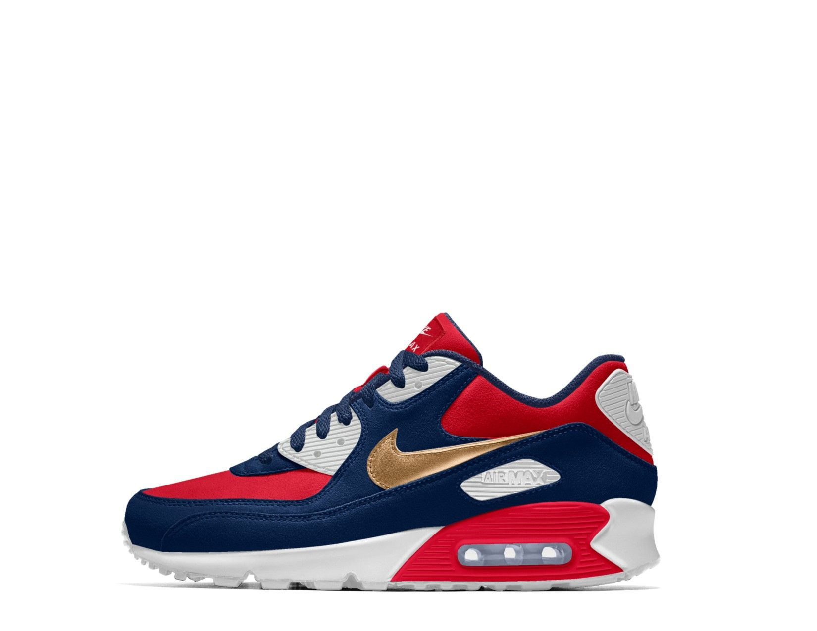 1990 Air Max Olympic Gold, Red, White and blue. | Blue