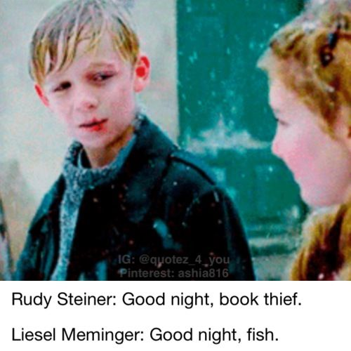 rudy steiner and liesel meminger relationship tips