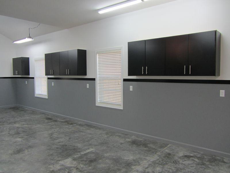 45 Simple Garage Paint Colors Ideas And Design Images In 2020 Painted Garage Walls Garage Paint Garage Interior