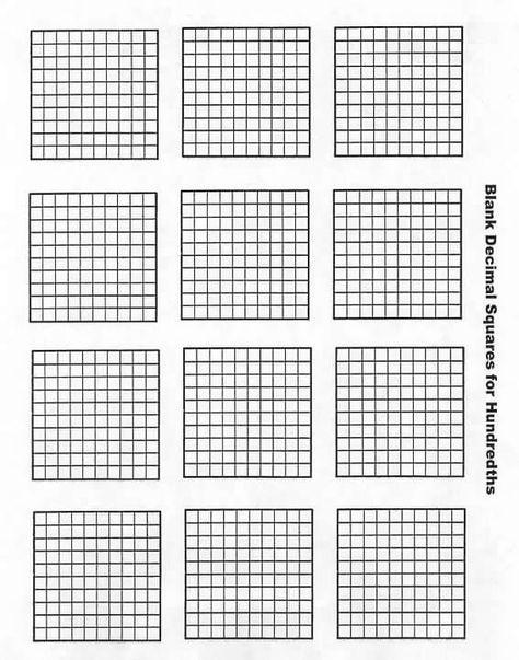Welcome to Decimal Squares Program | 4th grade - advanced math ...