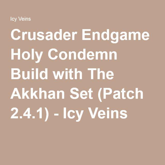 Crusader Akkhan Condemn Build Patch 2 6 8 Season 20