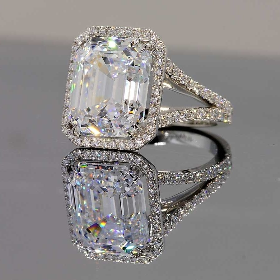 Cubic Zirconia Diamond Engagement Rings Moissanite