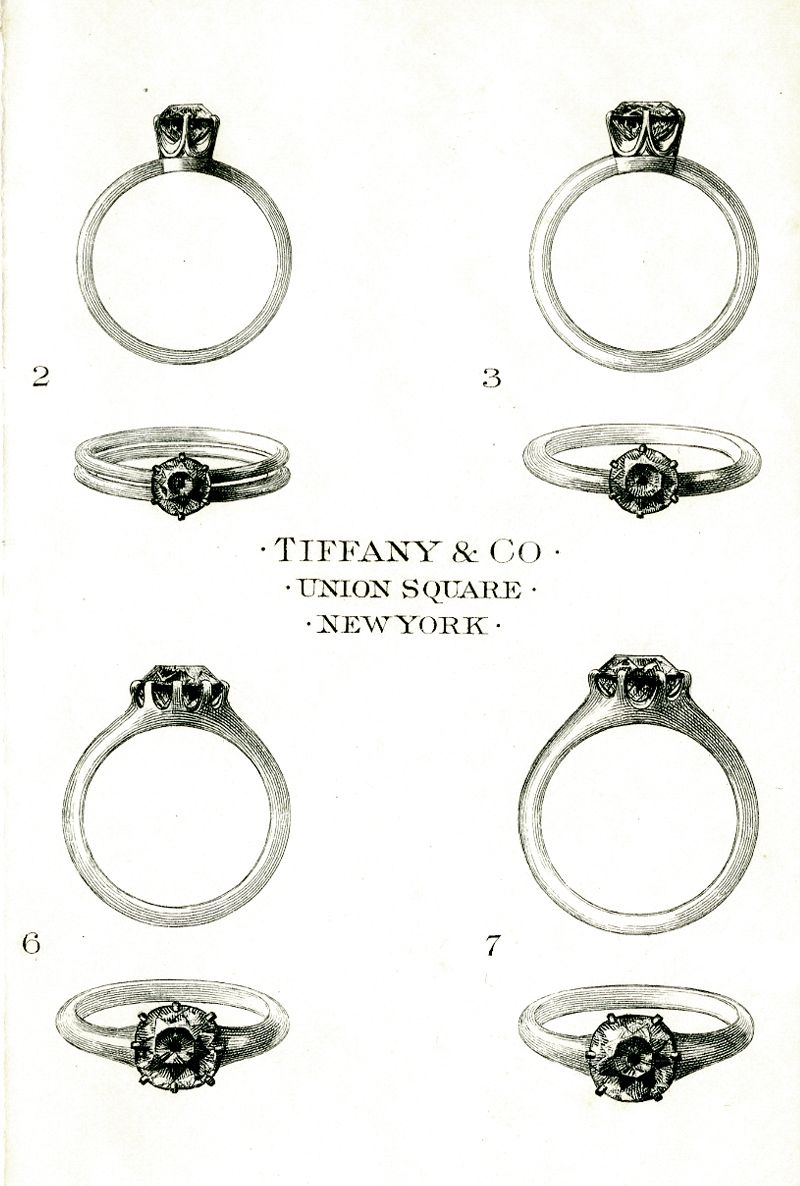 the tiffany setting tiffany sketches and engagement. Black Bedroom Furniture Sets. Home Design Ideas