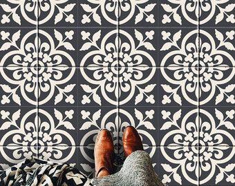 Victorian Moroccan Kitchen/bathroom/ Floor/Tile/wall By Bleucoin