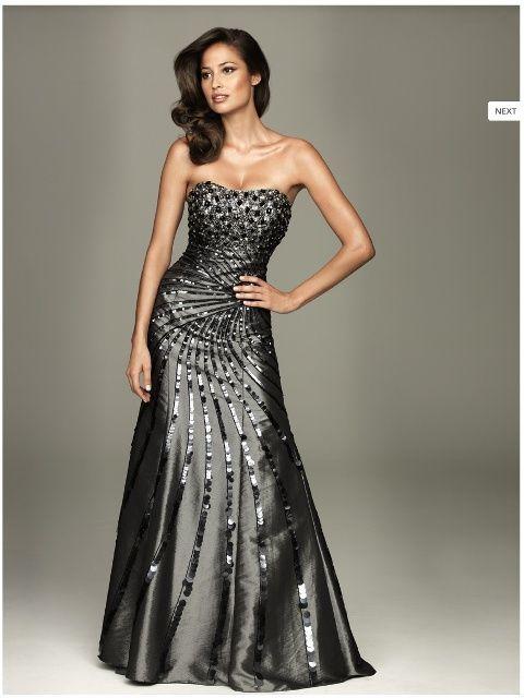 Imagenes de vestidos modernos de noche