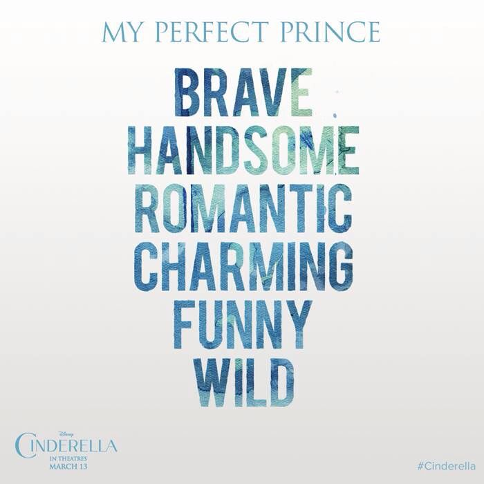 My Perfect Prince Brave Handsome Romantic Charming Funny Wild Photo creds to the Cinderella Facebook page