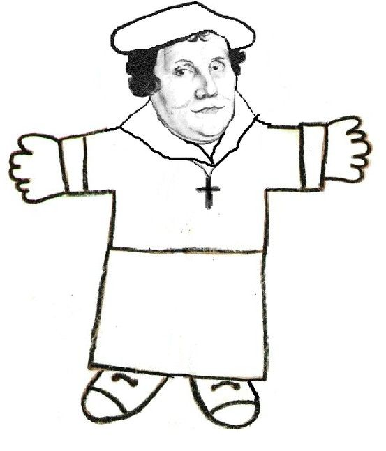 Flat Martin - Families take Flat Martin (Luther) with them on summer outings and photos of them with him are posted at church