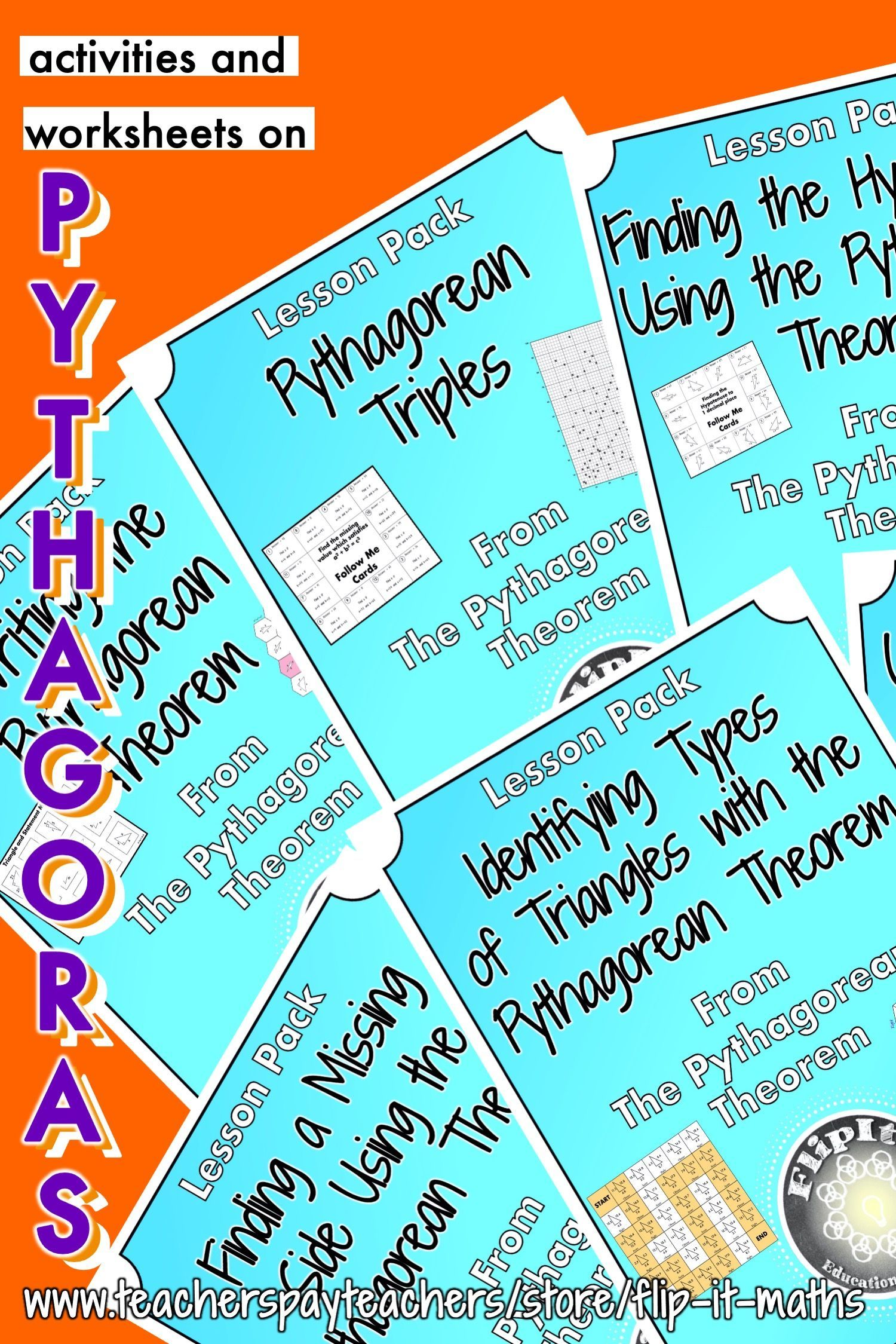 The Pythagorean Theorem Topic Bundle