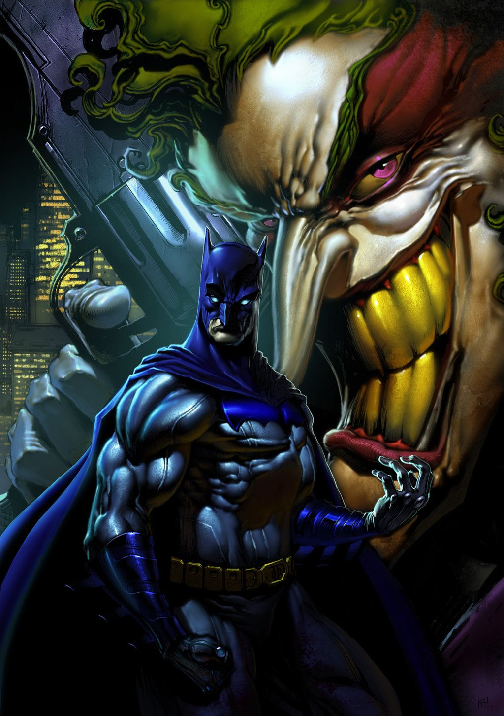 Batman 10 by kanartist comics tim e les super h ros - Batman contre joker ...