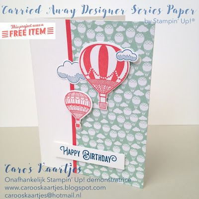 Stampin Up !, Lift me up bundle, up & away framelits, balloon stamps, balloons stamping, packaging, gift bag punch board, birthday, Sale-A-bration