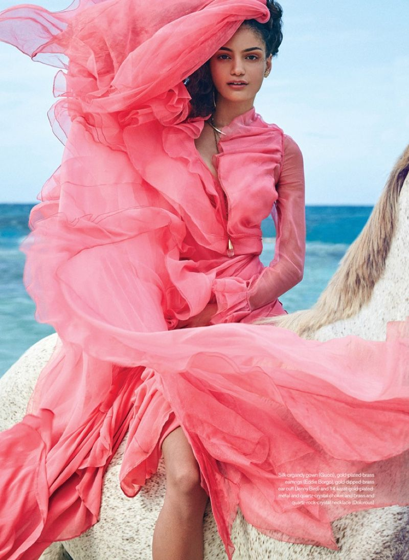 Swept Away: Max Abadian Captures Spring\'s Breezy Styles for ELLE ...