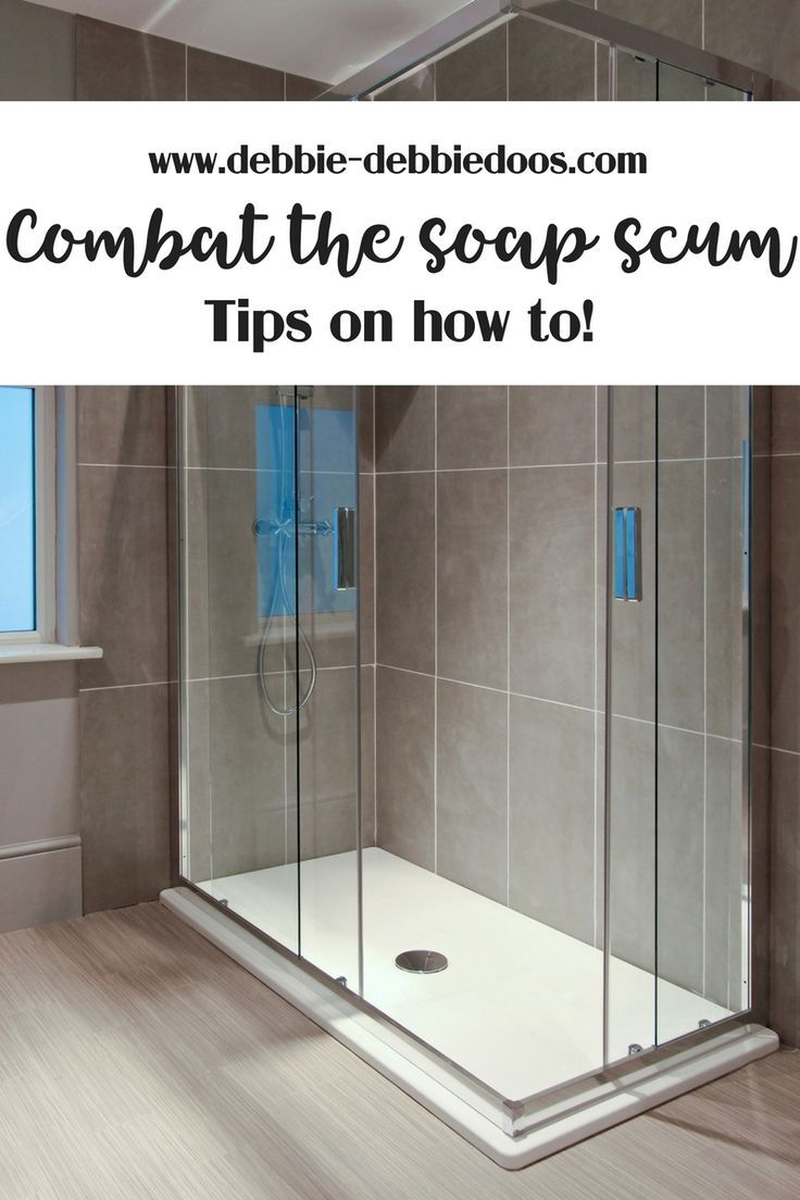 Never Have Soap Scum Again On Your Shower Doors Bloggers Best Diy