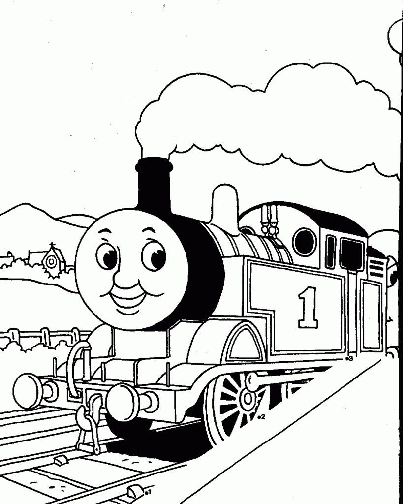 Train Coloring Pages For Free Download Http Procoloring Com