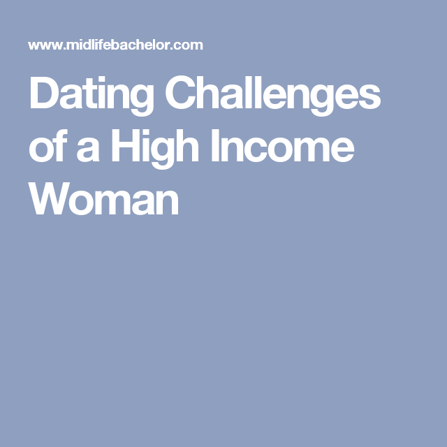 Dating high income