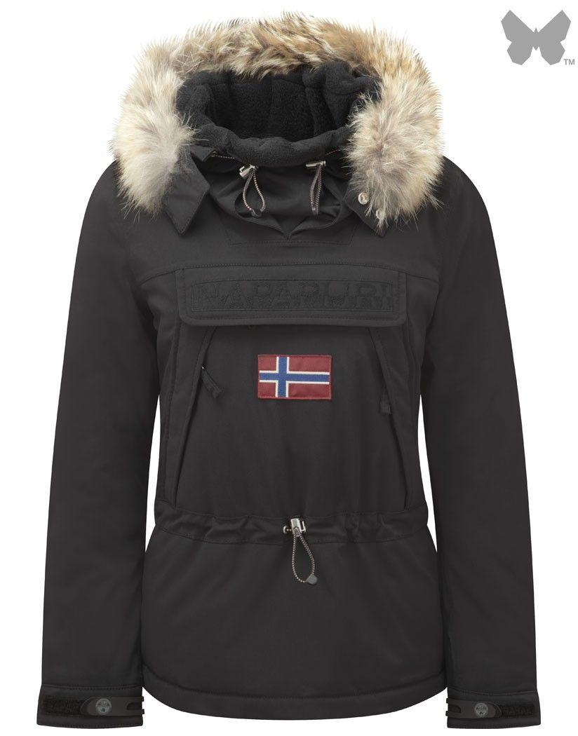 Napapijri Ladies' Skidoo 14 Jacket – Black | Country attire ...
