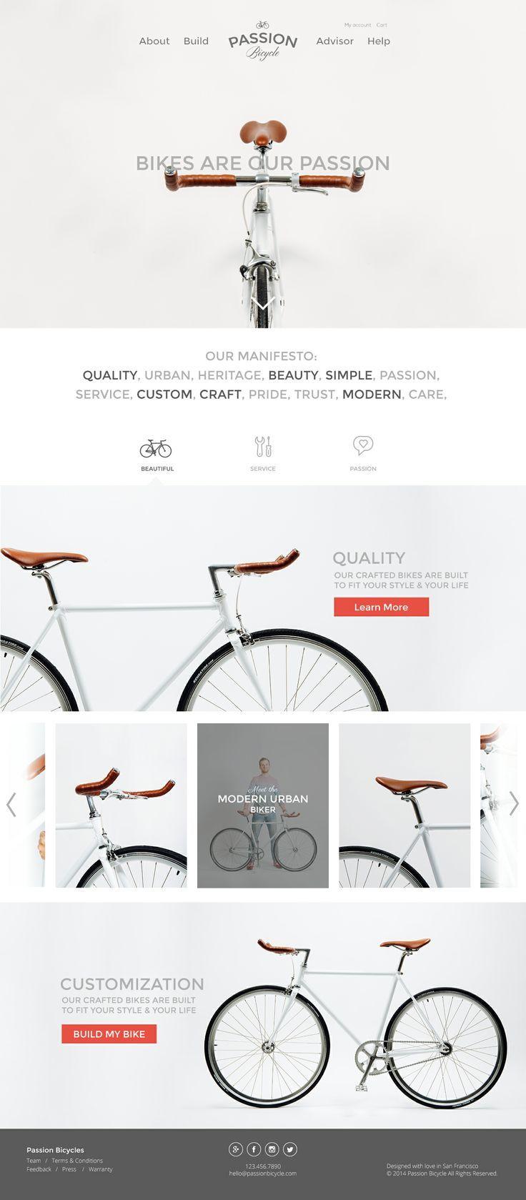 Daily Inspiration 1787 Designs De Websites Inspiracao Web