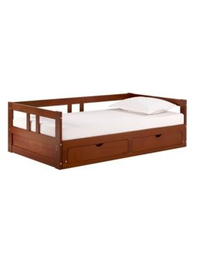 Melody Day Bed With Storage Brown