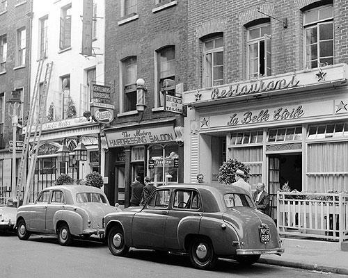 La Belle Etoile in the 1950's