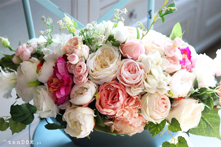 Bogata Kompozycja Kwiatowa Abella Big 2 Wys 35x56x30cm Floral Wreath Floral Flower Shop