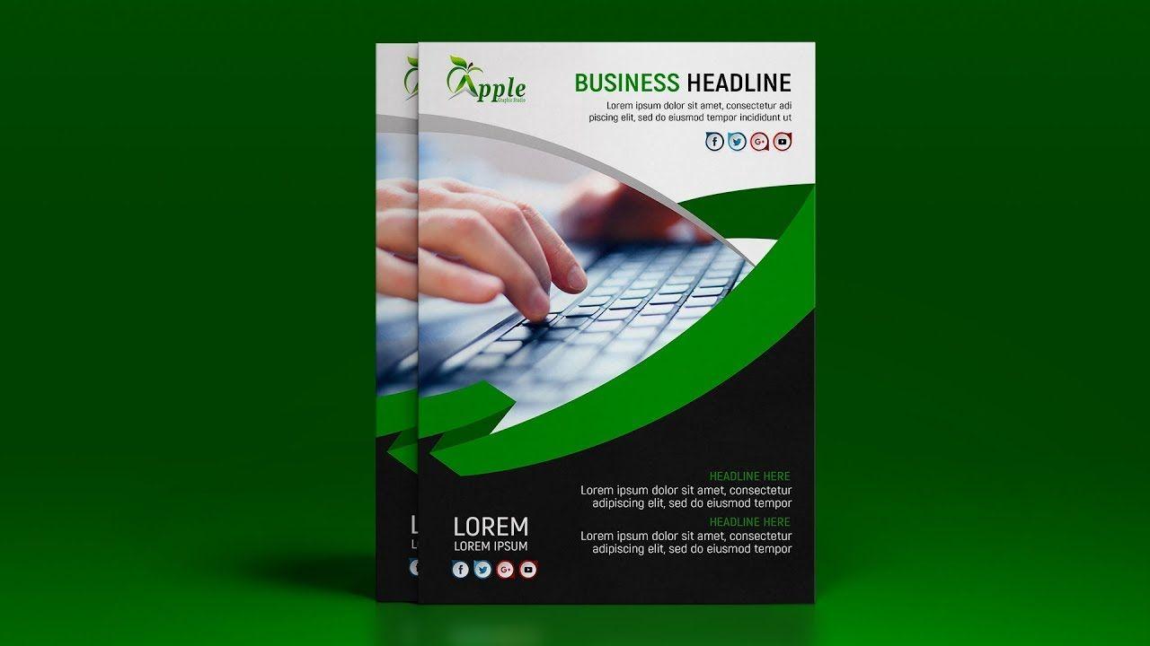 Business Flyer Design Tutorial In Photoshop Flyer Design Photoshop Design Business Flyer