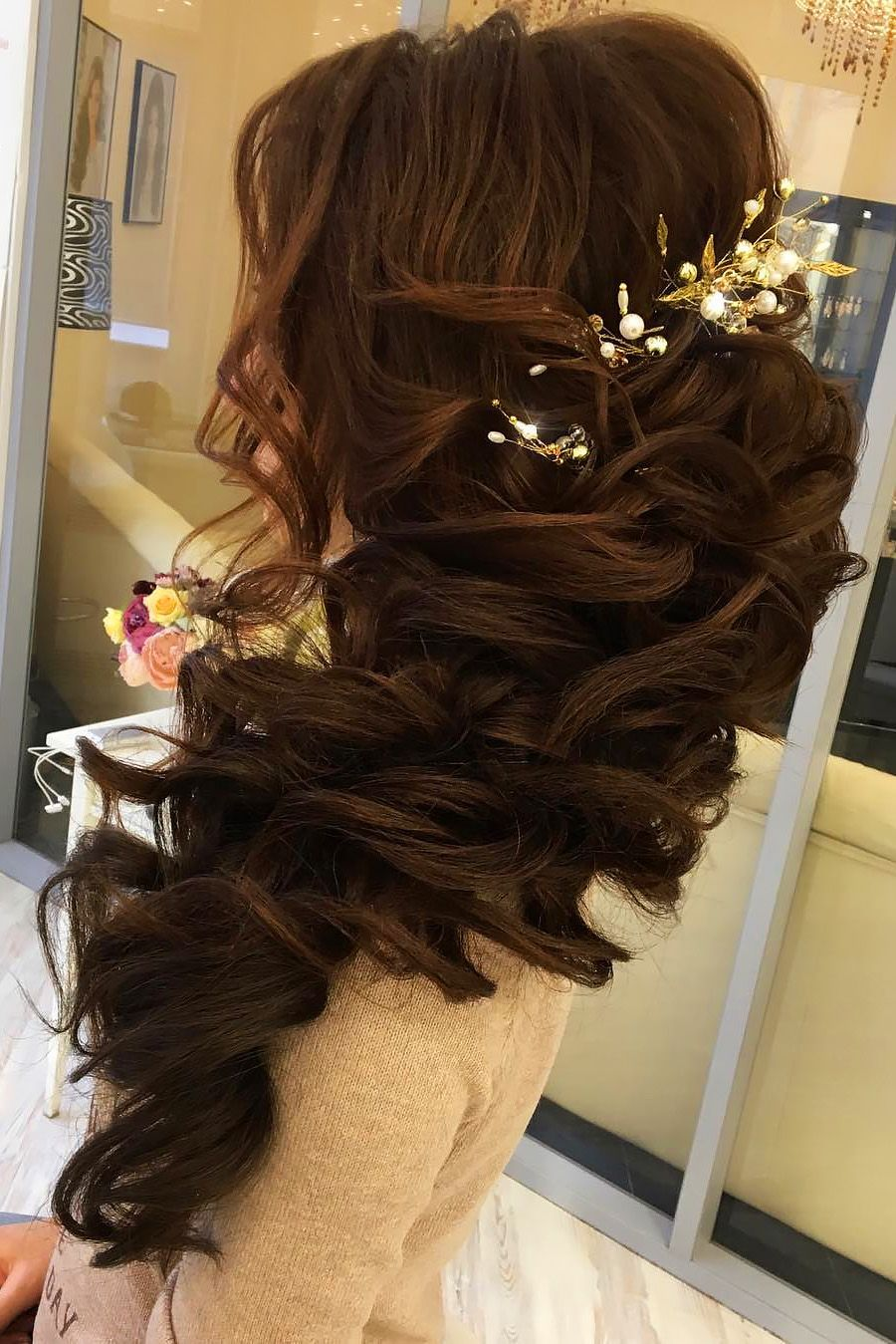 creative u unique wedding hairstyles see more