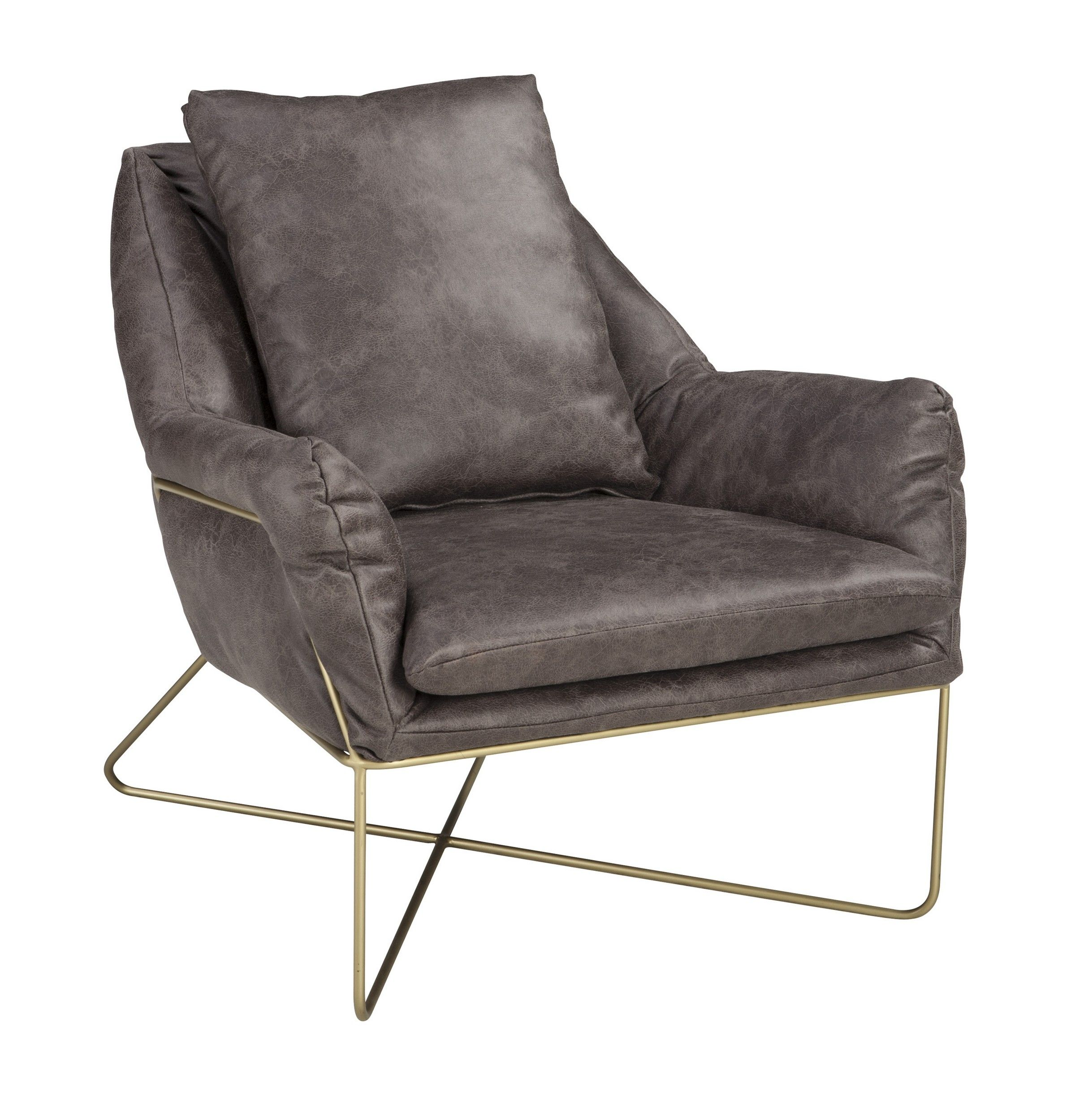 Signature Design By Ashley Crosshaven Dark Gray Accent Chair A3000040 Goedekers Com Accent Chairs Grey Accent Chair Ashley Furniture