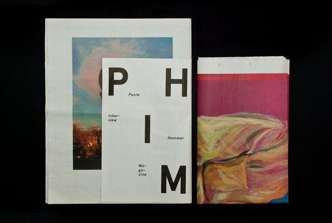 Paule Hammer – P H I M - studio jung / graphic design