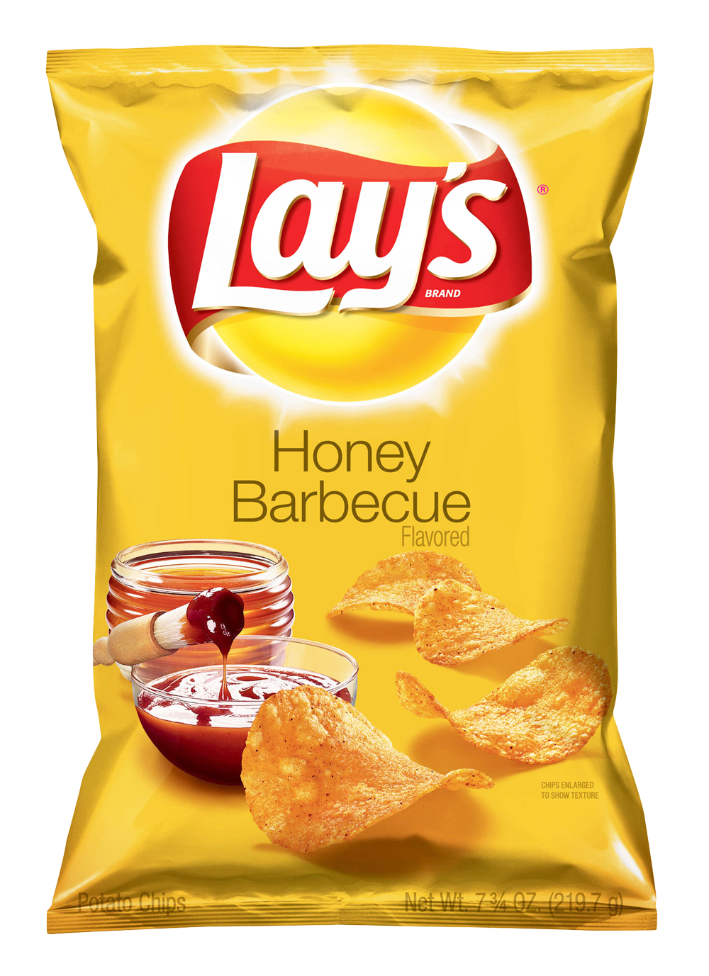 Lays Potato Chips Pack Honey Barbecue Lays Potato Chips Potato Chips