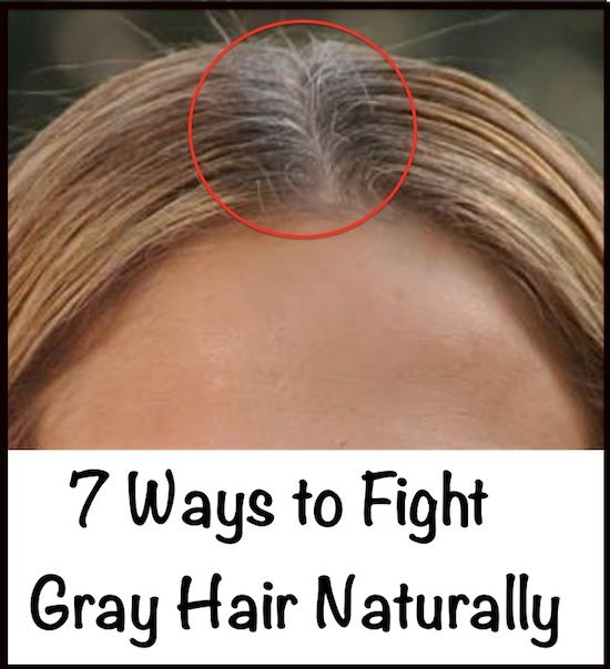 7 Ways to Fight Gray Hair Naturally | Gray hair, Gray and Remedies
