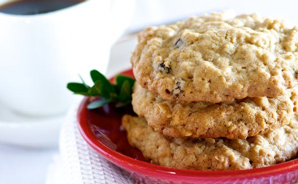Oatmeal Almond Cookies