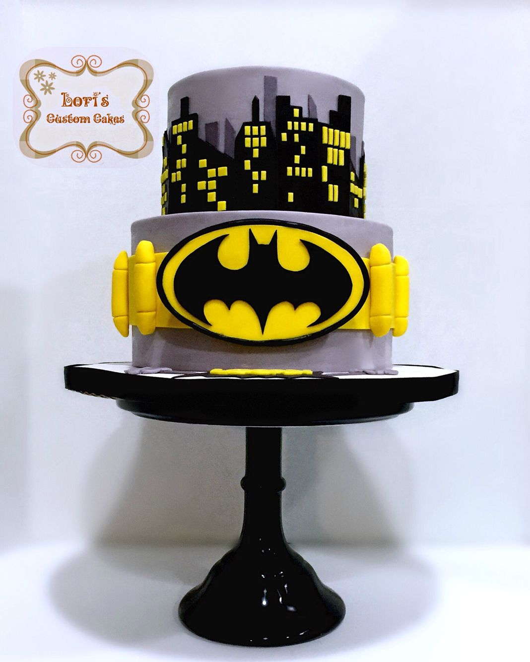Batman birthday cake Loris Custom Cakes Pinterest Batman