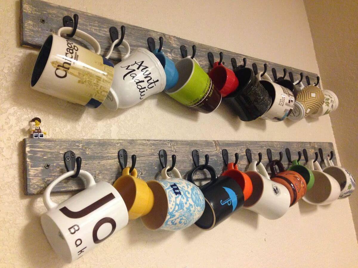 Fun And Creative Coffee Mug Organization Ideas Woods - Best coffee mug organization ideas