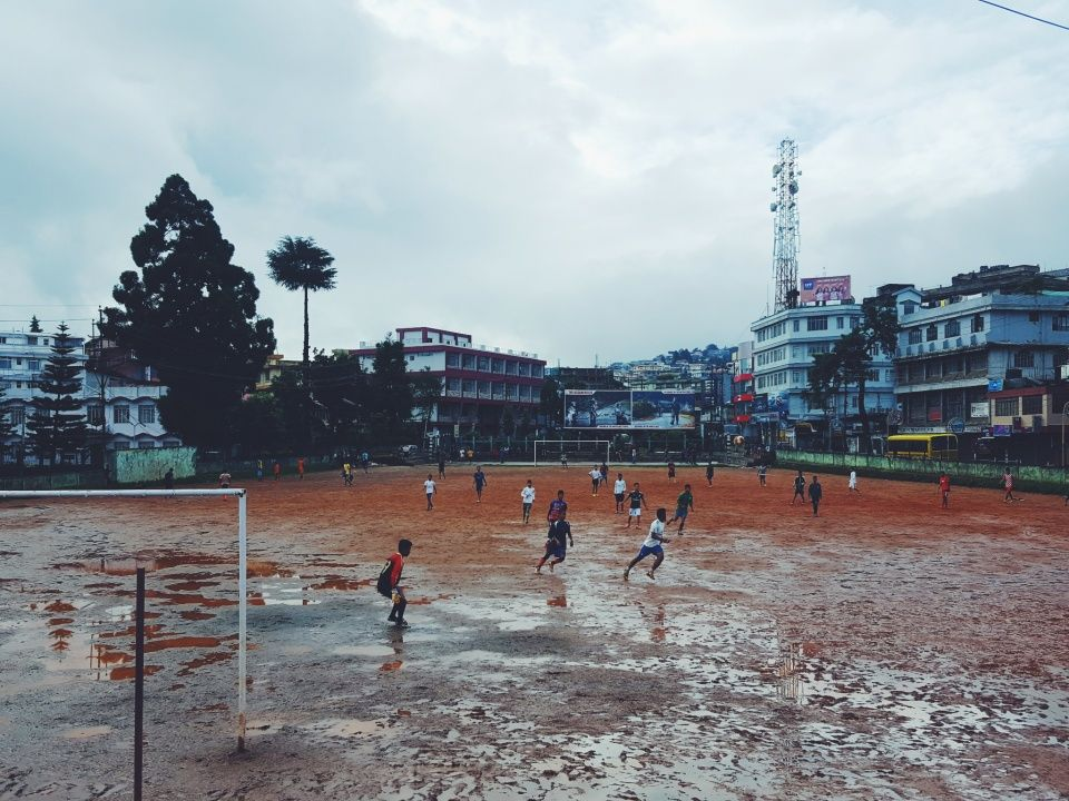 for the love of the game football soccer shillong