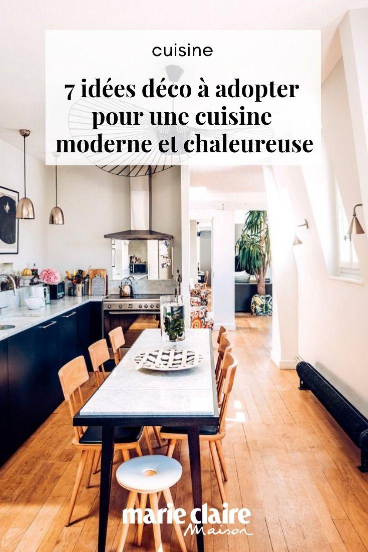 7 idées déco à adopter pour une cuisine moderne et ...