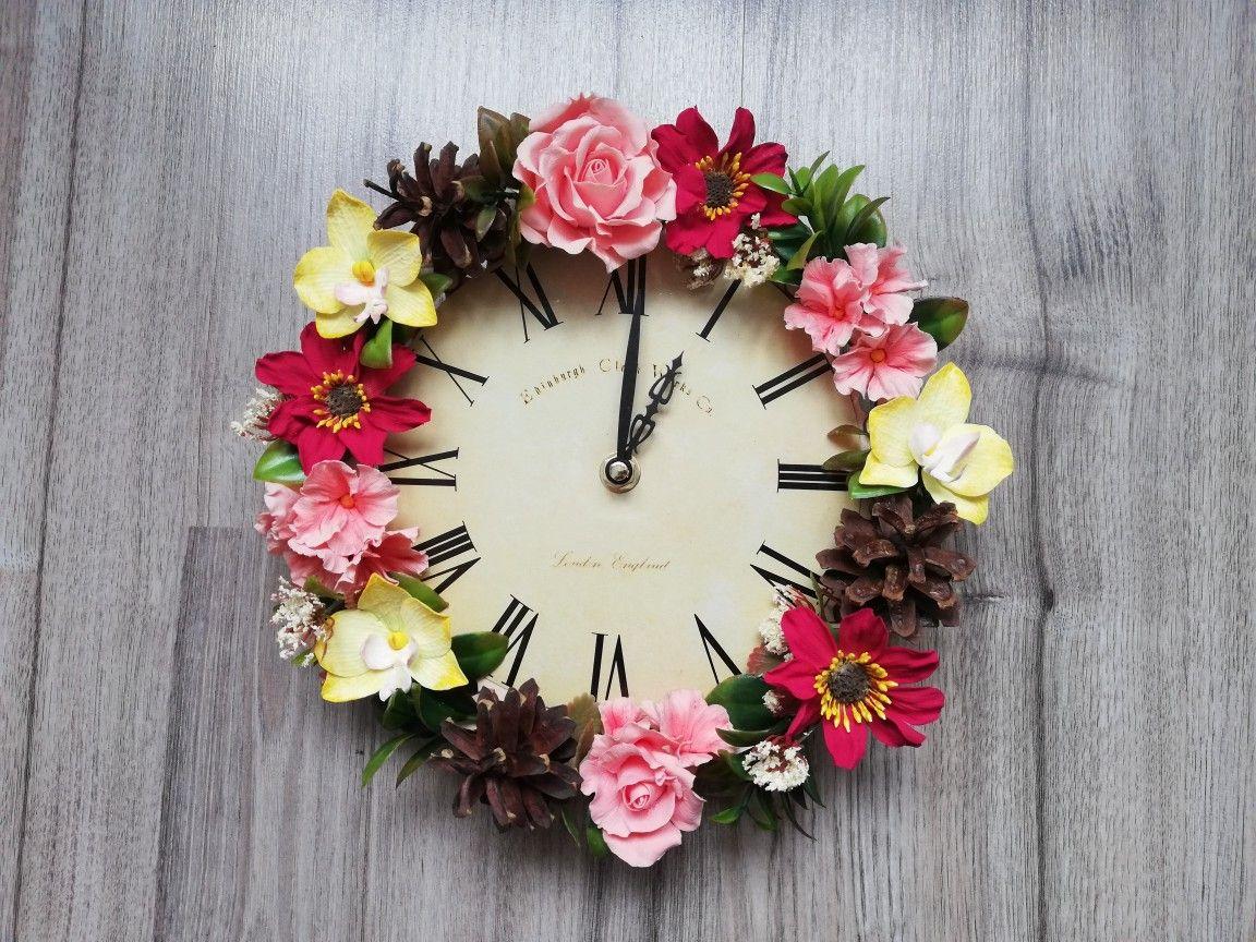 часы с цветами фото британских