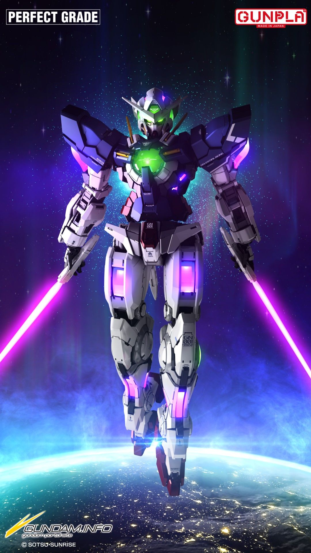 Gundam Exia Pg Gunpla Gundam Info Wallpaper Pahlawan Super Seni Anime Seni