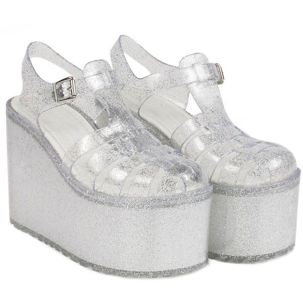 Jelly shoes, Platform sandals, Jelly