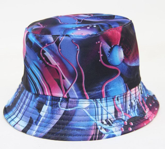 """ GALAXY "" BUCKET HAT"
