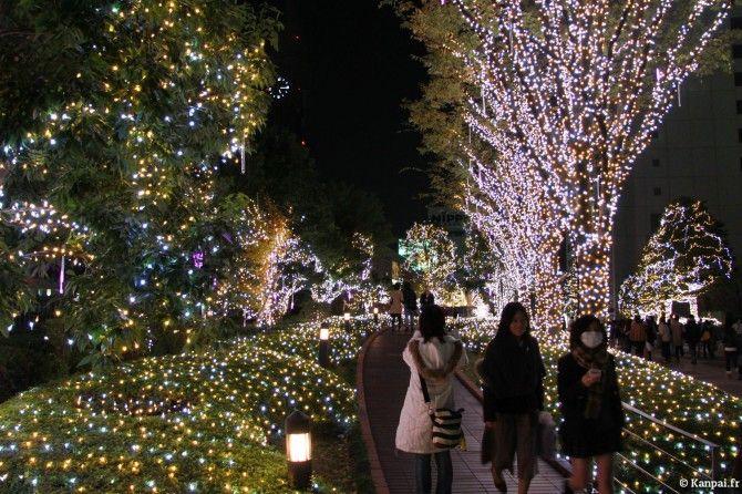 Tokyo à Noël - via Kanpai.fr http://www.kanpai.fr/japon/tokyo-noel-decorations.html