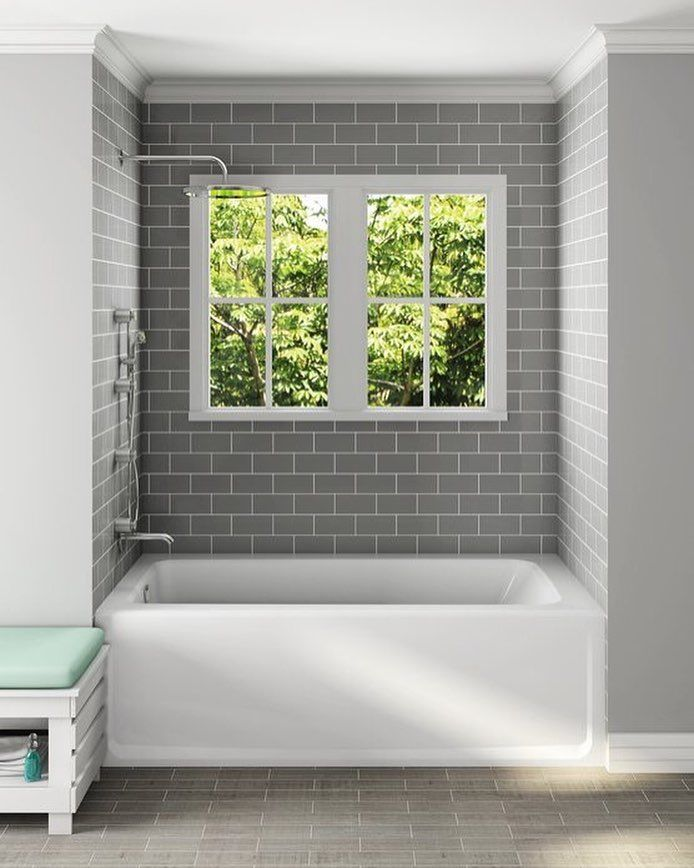 The classic design of the Primo bath adds comfort and style to any ...