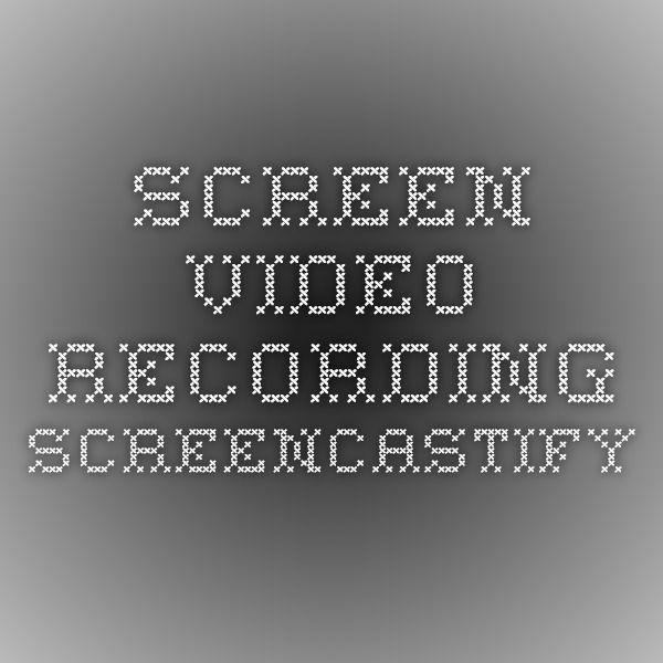 Screen Video Recording Screencastify for use on Chrome