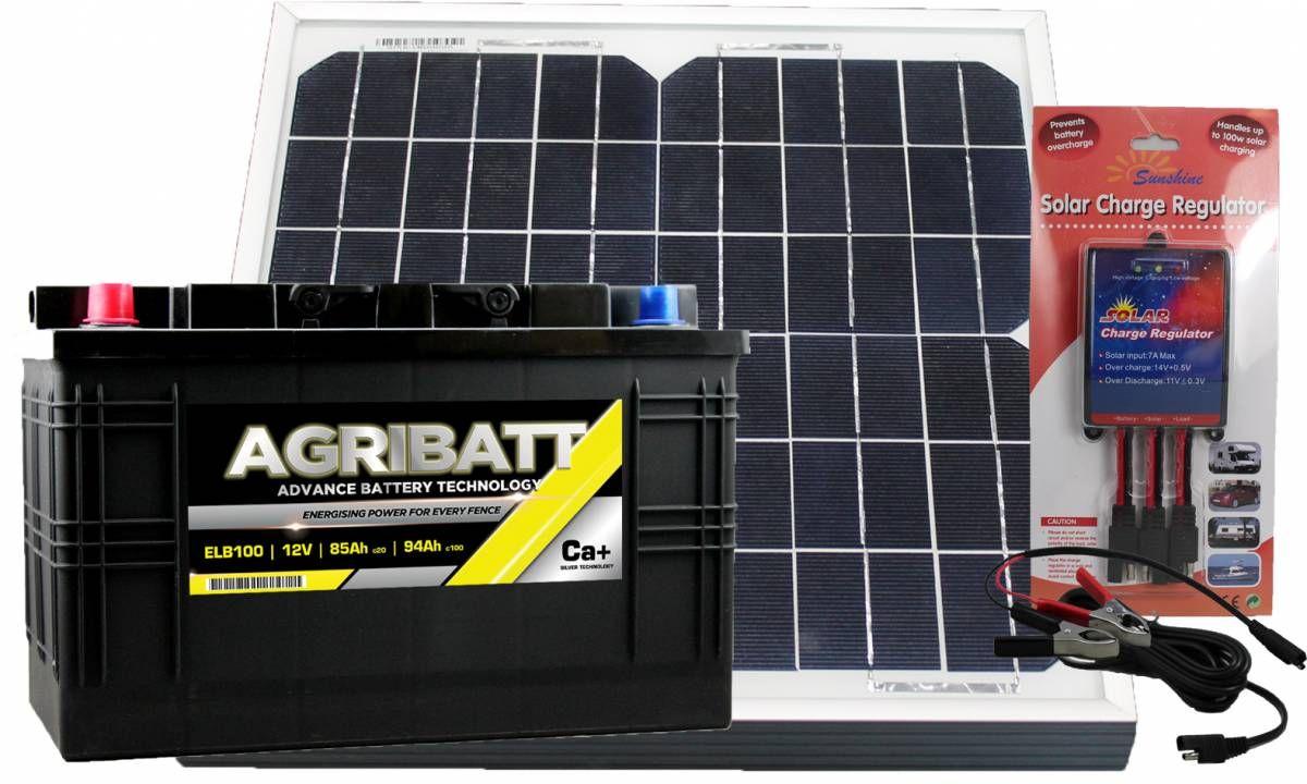 Electric Fence Solar Battery Kit ELB100 12V 94Ah c100