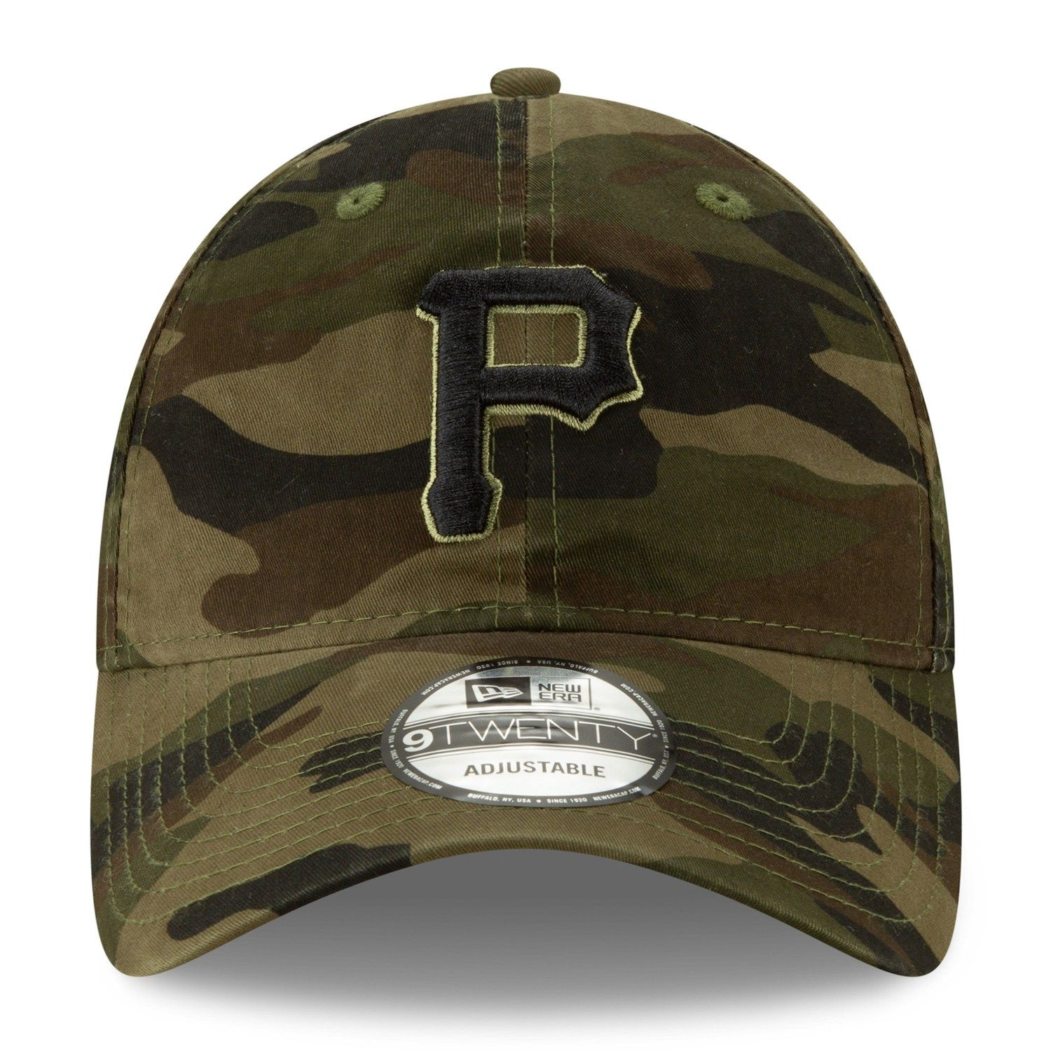 quality design 9b1b2 a6439 Adult New Era Pittsburgh Pirates Core Classic Camo 9TWENTY Baseball Cap   Affiliate  Pirates,  Affiliate,  Core,  Pittsburgh,  Adult