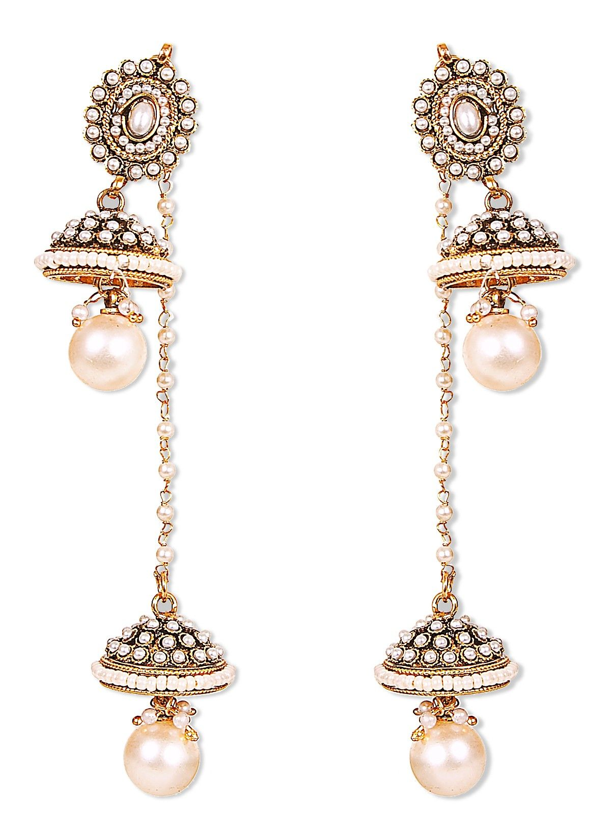 Shop for kashmiri Jewelry online with Jhumka Earrings for Women at