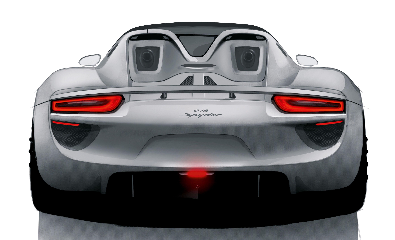 Pricing Announced For Porsche 918 Spyder Porsche 918 Hybrid Car Porsche