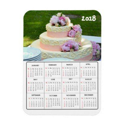 wedding 2018 calendar magnet favors weddingmagnets wedding magnets wedding magnets