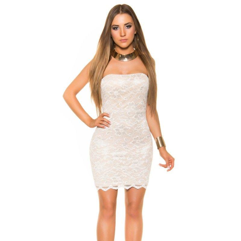 Čipkované mini šaty  46ff8dc052