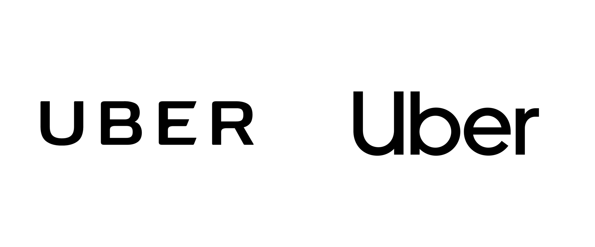 Reviewed New Logo And Identity For Uber By Wolff Olins And In House Typeface Logo Web Design Trends Web Design